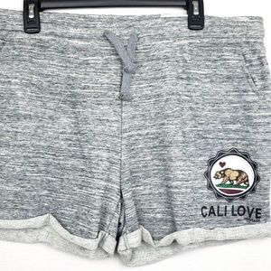 Reflex Cali Love Gray rolled Hem Shorts 3XL